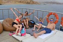 رحلة بحرية علي نوتيلوس كاتاماران فى شرم الشيخ