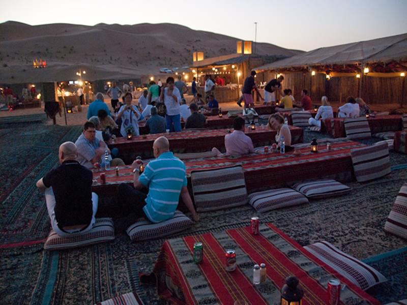 رحلة العشاء البدوى فى شرم الشيخ